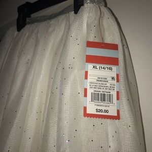 Cat & Jack Long Sequin Skirt
